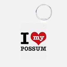 I love my possum Keychains