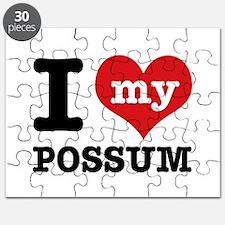 I love my possum Puzzle