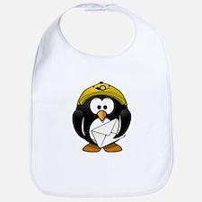 Mail Man Penguin Bib