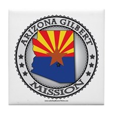 Arizona Gilbert Mission TShirts and Gifts Tile Coa