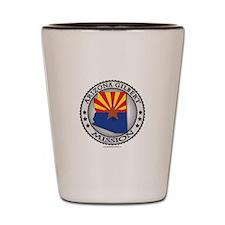 Arizona Gilbert Mission TShirts and Gifts Shot Gla