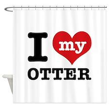 I love my OTTER Shower Curtain