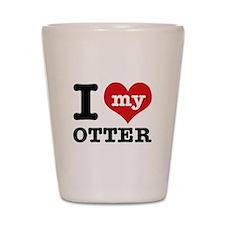 I love my OTTER Shot Glass