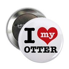 "I love my OTTER 2.25"" Button"