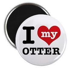 I love my OTTER Magnet