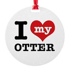 I love my OTTER Ornament