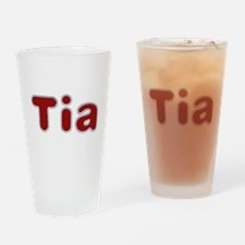 Tia Santa Fur Drinking Glass