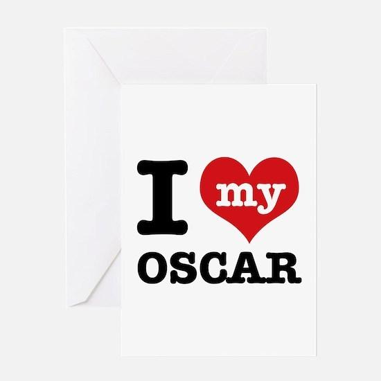 I love my OSCAR Greeting Card