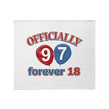 Officially 97 forever 18 Throw Blanket