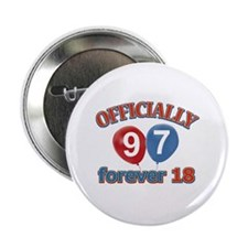 "Officially 97 forever 18 2.25"" Button"