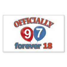 Officially 97 forever 18 Decal