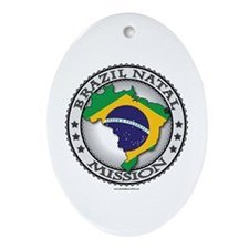Brazil Natal Mission - LDS Mission Tshirts Flag M