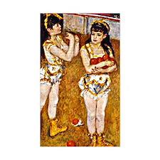 Renoir - Acrobats at the Cirqu Decal