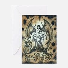 The Succubus Greeting Cards