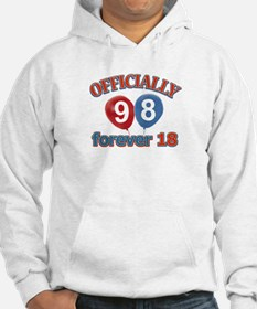 Officially 98 forever 18 Hoodie