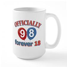 Officially 98 forever 18 Mug