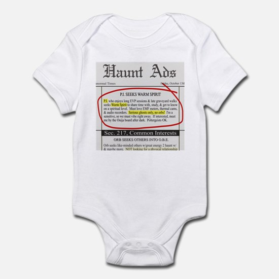 Haunt ads Infant Bodysuit