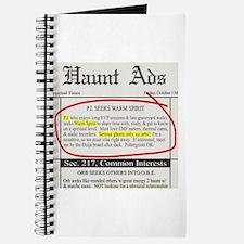 Haunt ads Journal