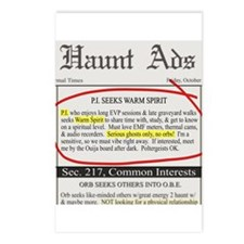 Haunt ads Postcards (Package of 8)