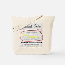 Haunt ads Tote Bag