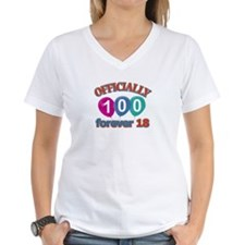 Officially 100 forever 18 Shirt