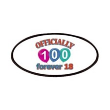 Officially 100 forever 18 Patches