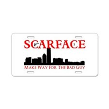 Scarface Aluminum License Plate