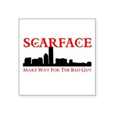 Scarface Sticker