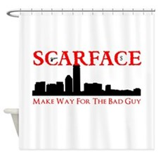 Scarface Shower Curtain
