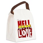 hell poster.jpg Canvas Lunch Bag