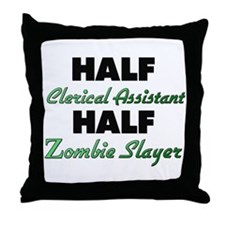 Half Clerical Assistant Half Zombie Slayer Throw P