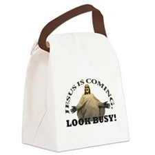 jesus.png Canvas Lunch Bag