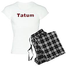 Tatum Santa Fur Pajamas