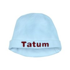 Tatum Santa Fur baby hat