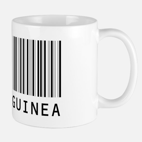 PAPUA NEW GUINEA Barcode Mug