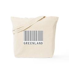 GREENLAND Barcode Tote Bag