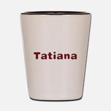 Tatiana Santa Fur Shot Glass