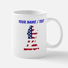Custom American Flag Hiker Mugs