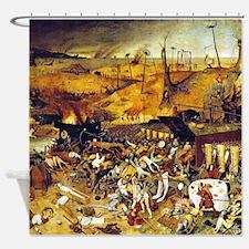 Triumph of Death (by Pieter Bruegel) Shower Curtai