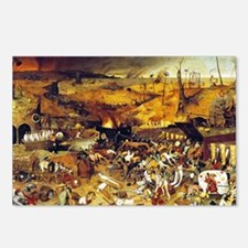 Triumph of Death (by Pieter Bruegel) Postcards (Pa
