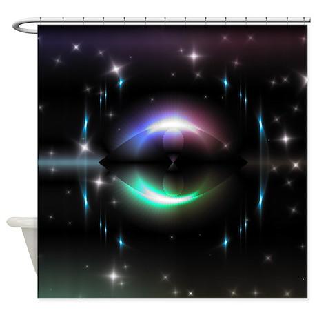 Mystic Prisms - Eye - Shower Curtain
