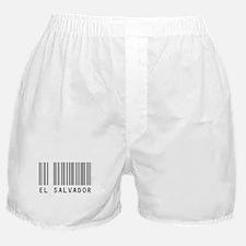 EL SALVADOR Barcode Boxer Shorts