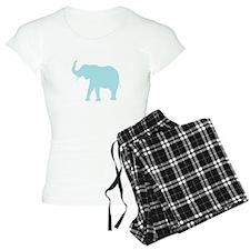 Baby Blue Elephant Pajamas