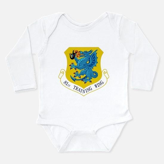 81st TW Long Sleeve Infant Bodysuit