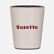 Suzette Santa Fur Shot Glass