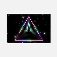 Mystic Prisms - Pyramid - Rectangle Magnet