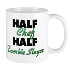 Half Chef Half Zombie Slayer Mugs