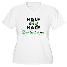 Half Chef Half Zombie Slayer Plus Size T-Shirt
