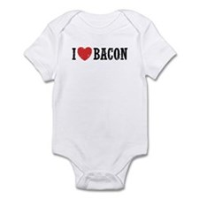 I Love Bacon Infant Bodysuit