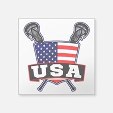 Team USA Lacrosse Logo Sticker